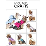 McCall's Patterns M6218 Pet Clothes, All Sizes