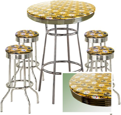 dunlap 5 piece pub table set