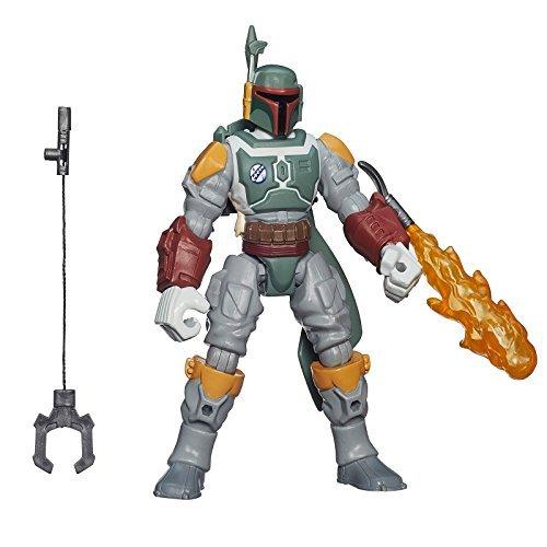 Star Wars Deluxe Boba Fett Hero Mashers Hasbro Le Force Awakens 15.2cm Figurine D'action