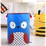Cjb Love Cute Owl Foldable Pop Up Hamper Laundry Bag (Us Seller)