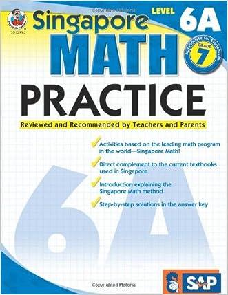 Singapore Math Practice, Level 6A, Grade 7