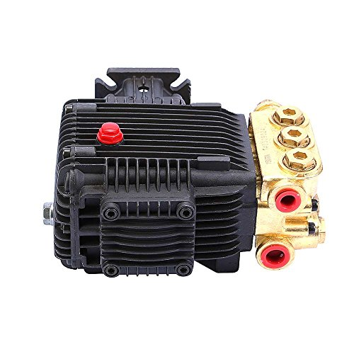 Sanven Pressure Washer Pump 3000 Psi Brass Manifold 4 Bolt Pattern Durable Product front-495509