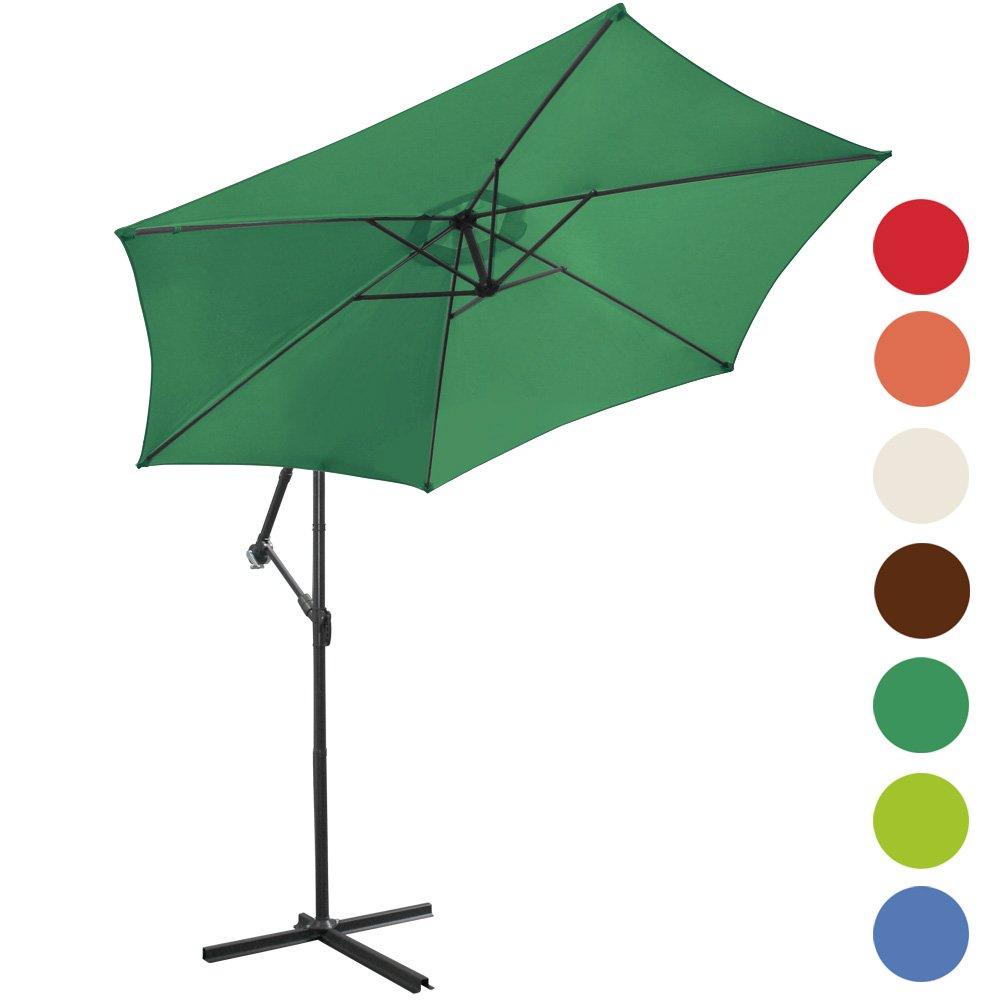 Ampelschirm Ø 300cm Sonnenschirm Sonnenschutz (Farbwahl) günstig kaufen