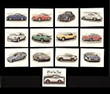 Classic Porsche - 356, Speedster, 356A, 912, 911, 914, 911 Targa, 911 Carrera, 924, 911 Turbo, 928, and 944 - Collectors Cards