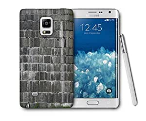 Snoogg Durable Desktop Printed Protective Phone Back Case Cover For Samsung Galaxy NOTE EDGE