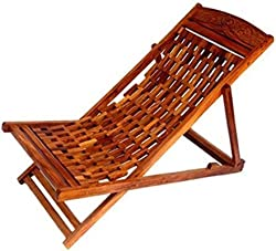 Tayyaba Enterprises Wooden Easy Chair