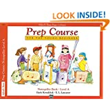 Alfred's Basic Piano Prep Course: Notespeller Book, Level A