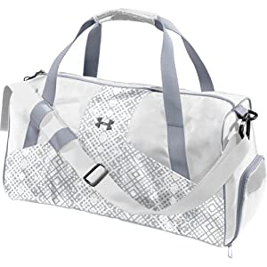 Define Under Armour Women's Sports Bag, White/Steel