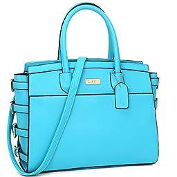 K664018L MyLux® Women/Girl Fashion Designer Purse handbag 8184-BLUE