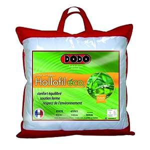 Dodo Hollofil Eco 2 Oreiller Classique 65 x 65 cm Synthétique Ferme