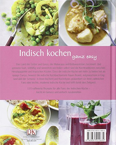 libro indisch kochen ganz easy di anjum anand. Black Bedroom Furniture Sets. Home Design Ideas