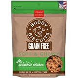 Cloud Star Grain Free Soft and Chewy Buddy Biscuits Dog Treats, Rotisserie Chicken, 5-Ounce