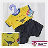Dino-mite Outfit Teddy Bear Clothes fit 15in Build a Bear