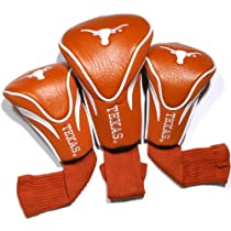 NCAA Texas Longhorns 3 Pack Contour Golf Club Headcover
