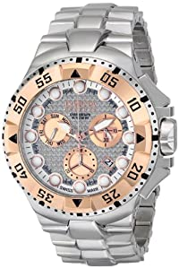 Invicta Men's 15982 Excursion Analog Display Swiss Quartz Silver Watch