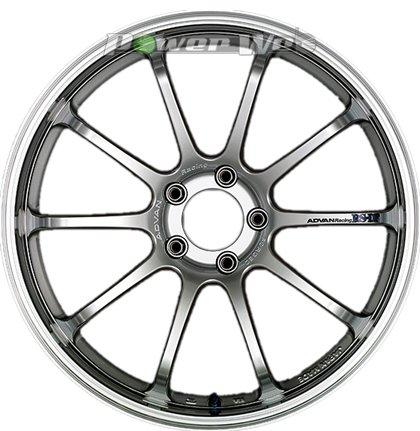 [ホイール1本(単品)]YOKOHAMA WHEEL / ADVAN Racing RS-DF (MHS) 19インチ×9.5J PCD:120 穴数:5 インセット:35