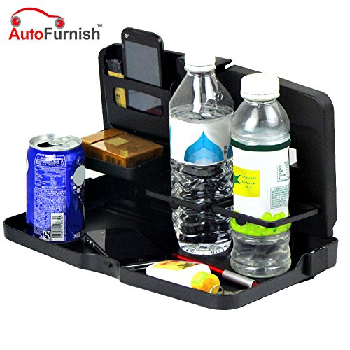 Autofurnish Universal Black Car Meal Tray