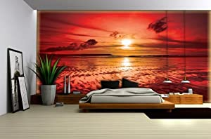 fototapete fototapeten tapete tapeten sonnenuntergang. Black Bedroom Furniture Sets. Home Design Ideas