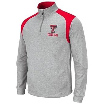 NCAA Texas Tech Red Raiders Mens Frost 1 4 Zip Fleece Sweatshirt by Colosseum
