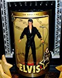 1968 Special Elvis Presley 12 Inch Figure, In Black Leather Amazon.com