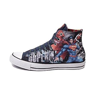 converse dc comics superman sneakers chuck all