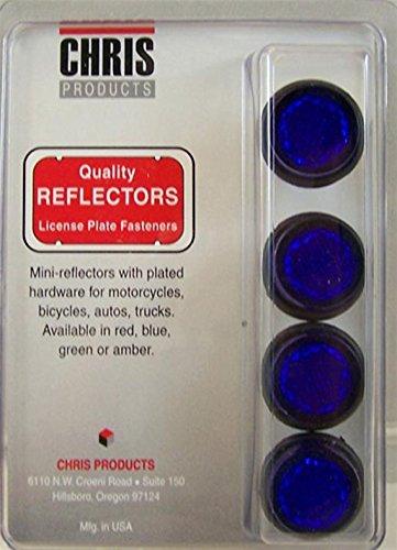 chris-productos-placa-de-licencia-de-motocicleta-mini-reflector-4-unidades