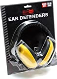 Baratec Yellow Cushioned And Adjustable Headband Ear Defenders Ear Muffs - SNR 25 db
