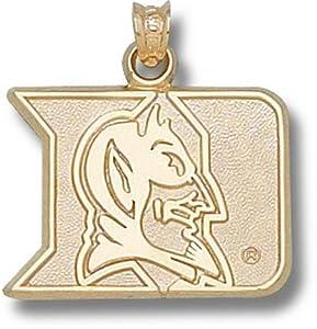 Duke University Iron Duke 5 8 - 14K Gold by Logo Art