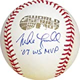 Mike Lowell 07 WS MVP Autographed Signed 2007 World Series Baseball by Hollywood Collectibles