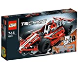 LEGO Technics - Race Car - 42011 42011 (The super-fast, super-sleek, super-cool Race Car is the perfect introduction to the exciting world of LEGO® Technic... )