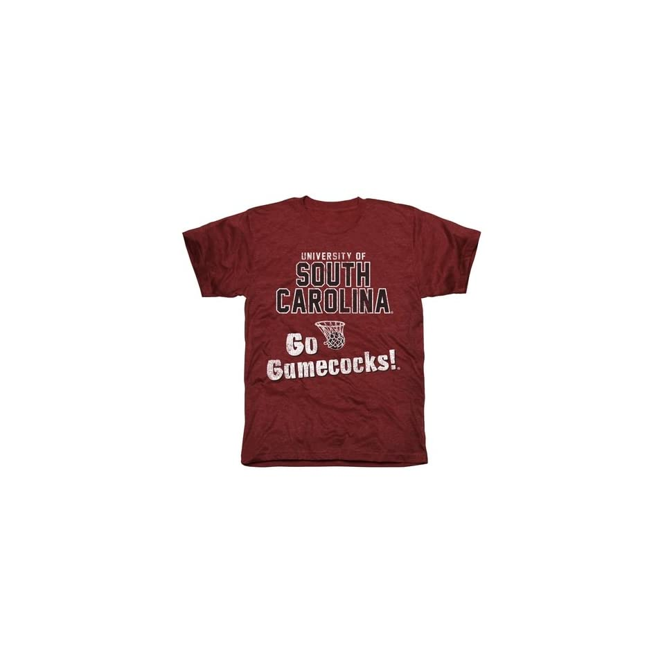 NCAA South Carolina Gamecocks Cheering Section Tri Blend T