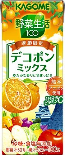 カゴメ 野菜生活100 デコポンミックス 200ml×24本
