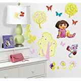 RoomMates RMK1378SCS Dora the Explorer Peel and Stick Wall Decals