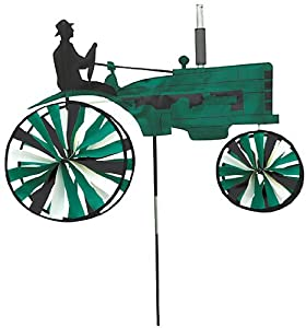 Premier designs old tractor green wind for Garden spinners premier designs