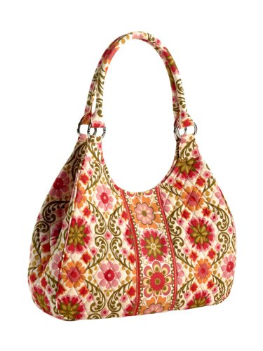 Vera Bradley Large Hobo Bag Purse in Folkloric