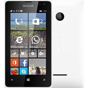 Microsoft Lumia 435 UK SIM-Free Smartphone - White