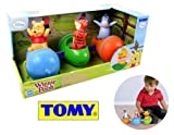 TOMY Disney Winnie the Pooh Spin n Play Acorn Train 12m+ Baby Care Activity Toys 5011666718616