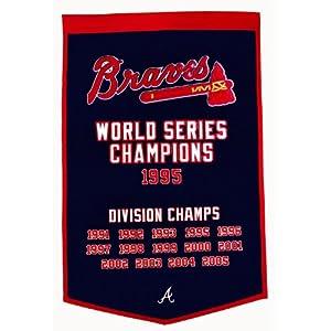 MLB Atlanta Braves Dynasty Banner by Winning Streak