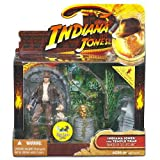 Indiana Jones - Raiders of the Lost Ark / Jäger des verlorenen Schatzes - Movie Deluxe - INDIANA JONES with Temple Trap / mit TEMPEL FALLE & SCHÄDEL - OVP