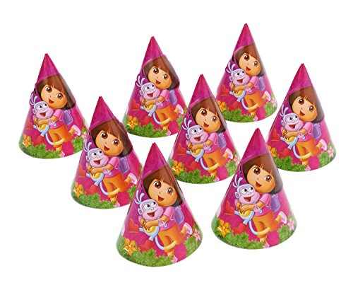 American Greetings Dora The Explorer Hats Party Supplies (8 Count)
