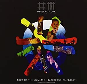 Depeche Mode - Tour of the Universe, Barcelona (Standard Edition: 1 DVD, 2 CDs)