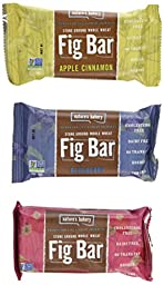 Nature\'s Bakery Stone Ground Whole Wheat Fig Bar-36, 2 OZ Twin Packs, variety pack