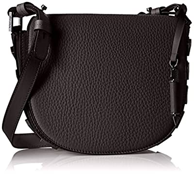 Mackage Rima Half Moon Arrows Saddle Cross Body Bag