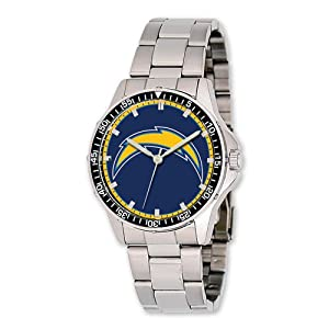 Mens NFL San Diego Chargers Coach Watch by Jewelry Adviser Nfl Watches
