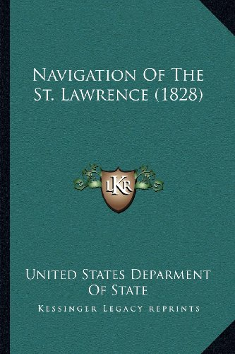 Navigation of the St. Lawrence (1828)