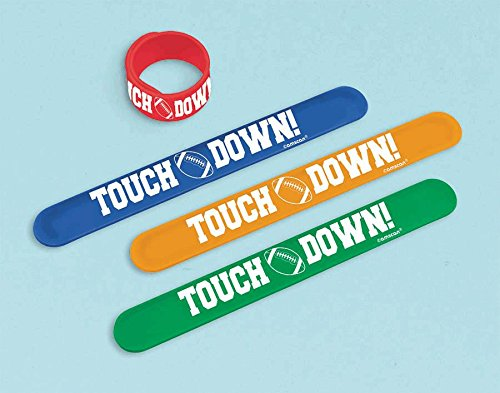 Football Slap Bracelet 1 Count