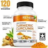 DOUBLE STRENGTH TURMERIC + BIOPERINE Capsules! 2 Month Supply! 1300mg. Non-GMO Turmeric Curcumin with Black Pepper. Benefits Anti-inflammatory & Anti-Aging. Feel Less Joint Pain in 2 weeks!