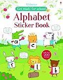 alphabet sticker book...