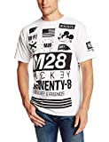 Neff Men's MK28 X Disney Colab T Shirt White