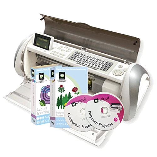 Cricut Expression Personal Electronic Cutter 290611 with Potpourri Cartridge and Accessories